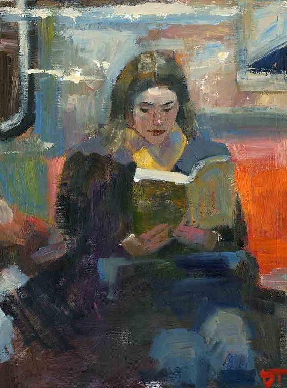 خواندن در قطار